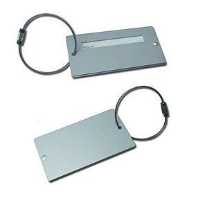 Aluminum Luggage Tag