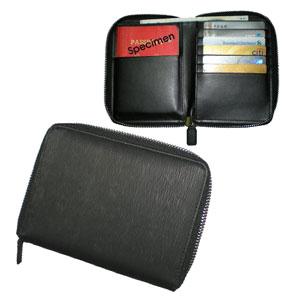 Zippered Travel Wallet