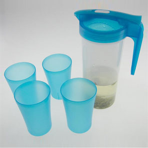 GM1553 Plastic Pitcher With 4 Cups