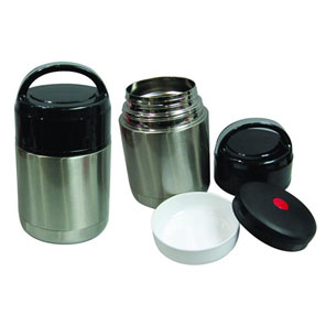 Stainless Steel Vacuum Food Container - 800ml
