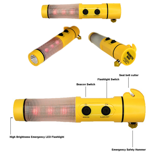 5-in-1 Emergency/Safety Torchlight