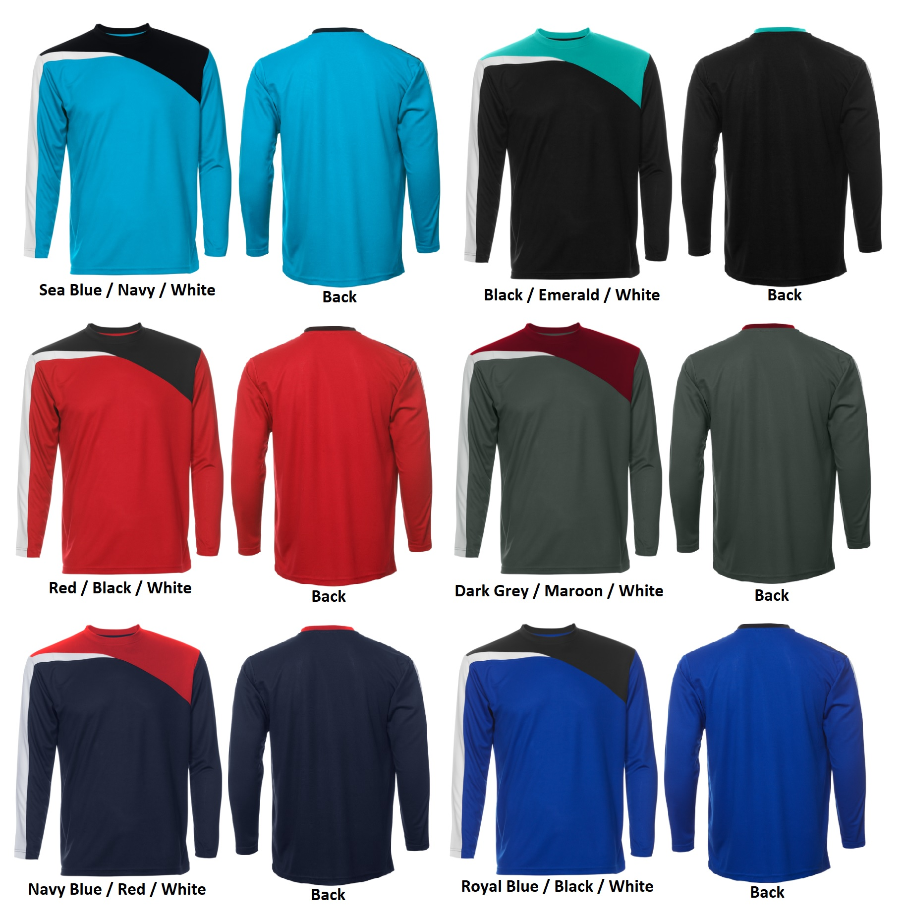 Quick Dry Round Neck Long Sleeve T-Shirt