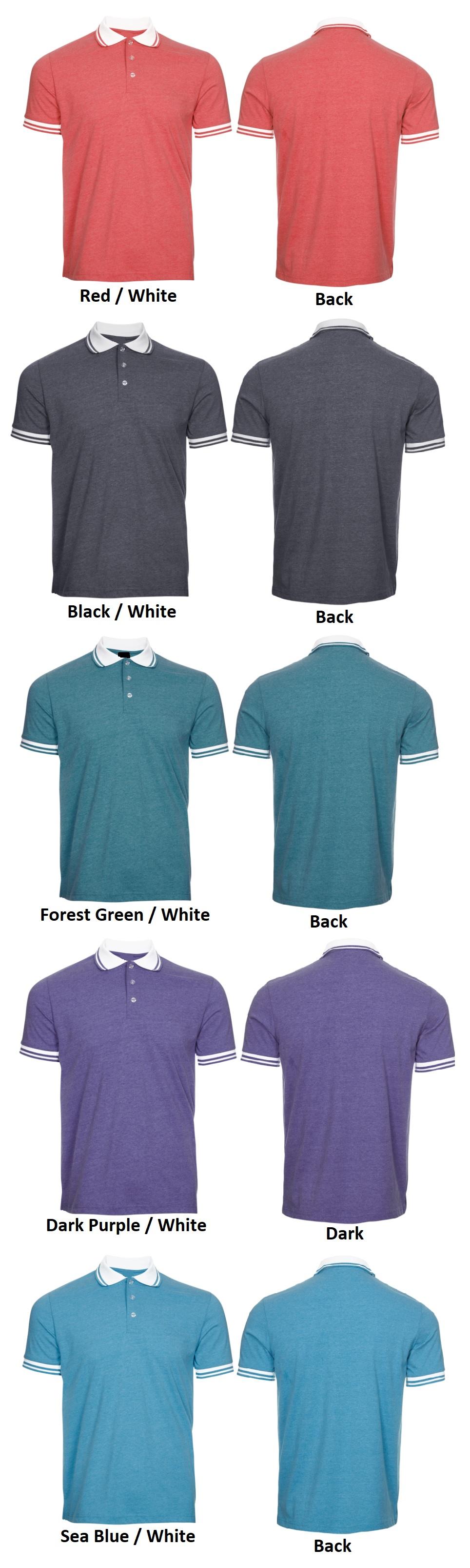 Single Jersey Polo T-Shirt