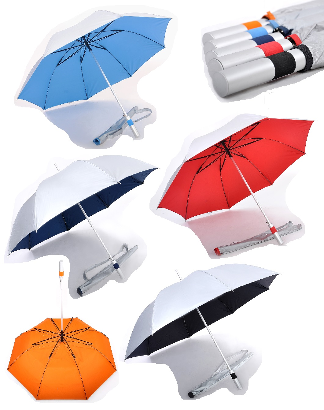 27inch Lightweight Umbrella with UV coating