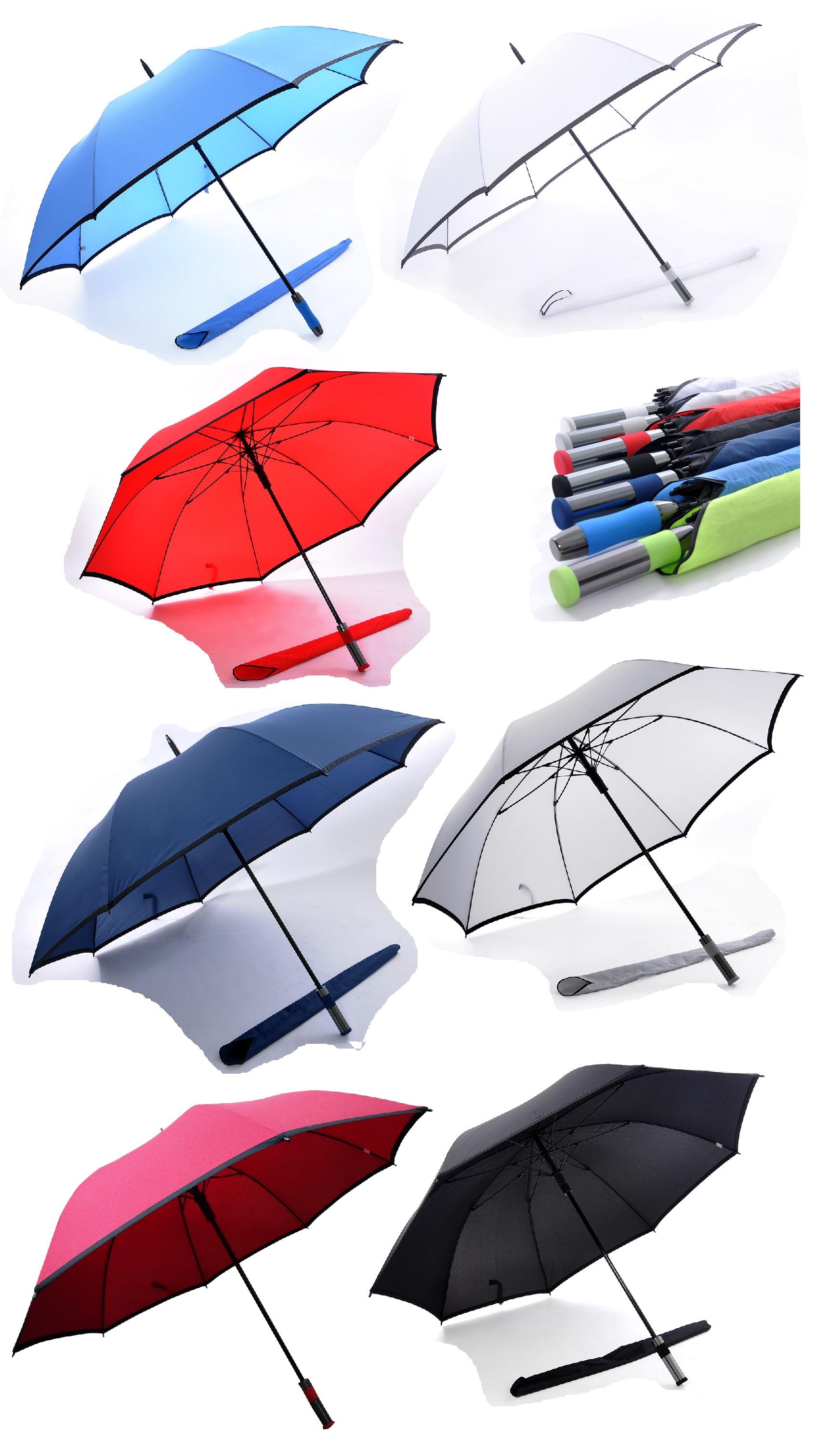 30inch Golf Umbrella with Black / Grey Trimming