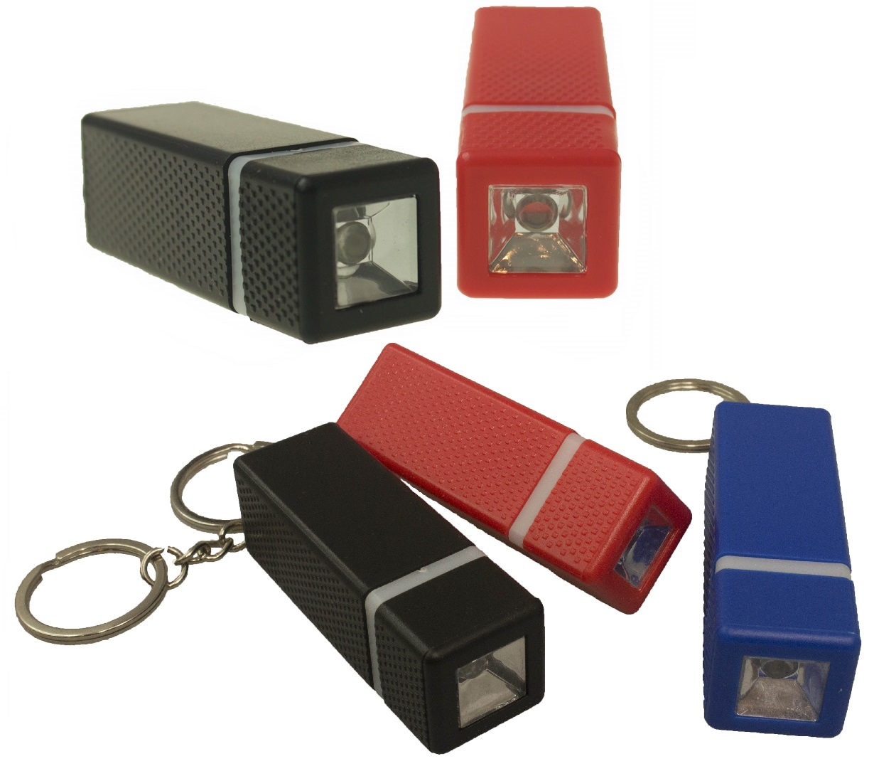 Mini Keychain LED Torchlight with button batteries