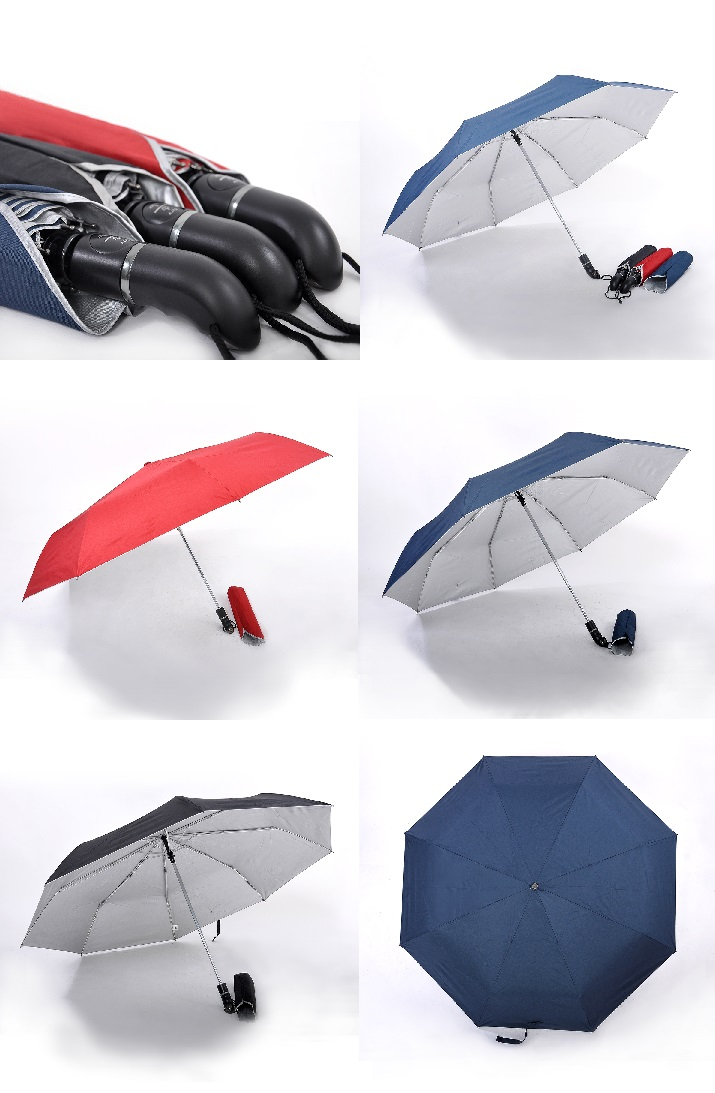 27inch Auto-eject Umbrella with UV Coating on interior panels