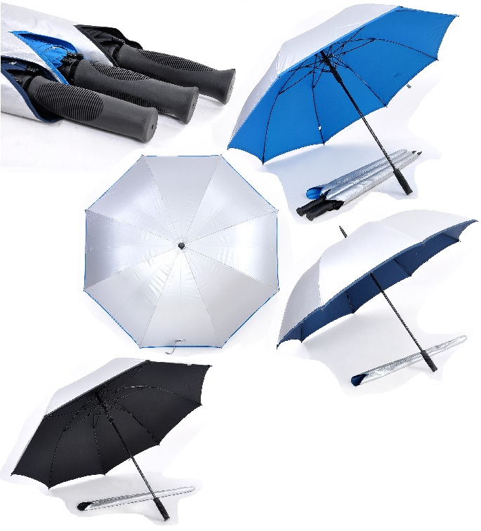 30inch Golf Umbrella with UV coating on exterior panels