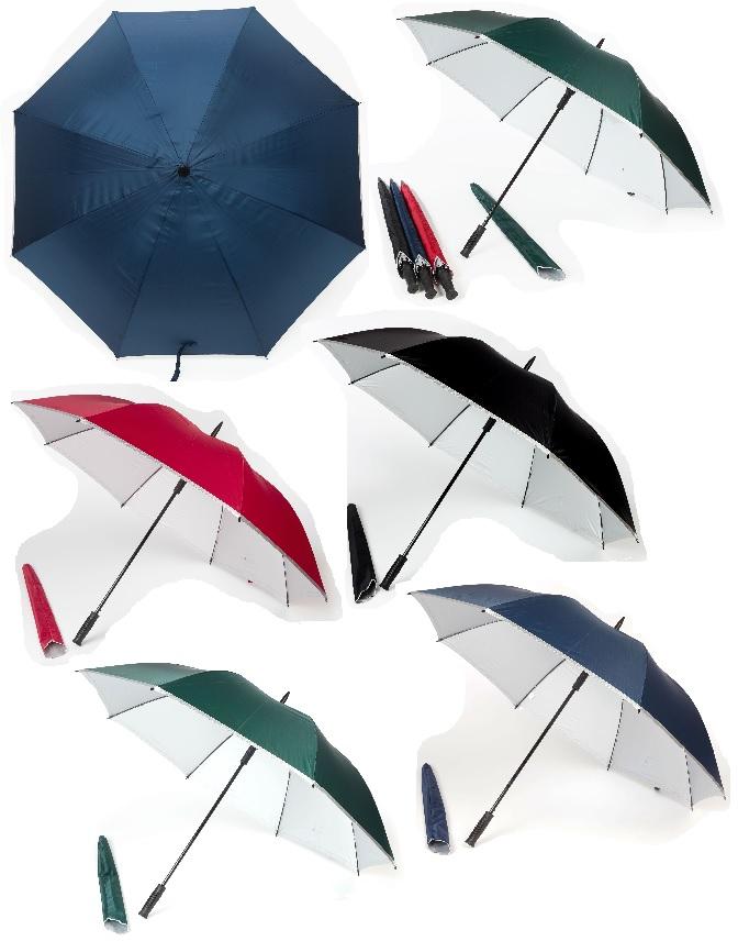 30inch Golf Umbrella with UV coating on interior panels